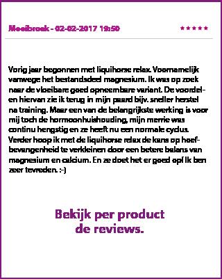 Reviews LiquiHorse