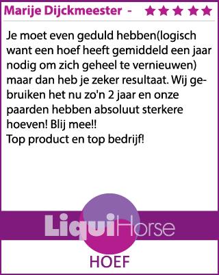 Ervaring LiquiHorse Hoef - review